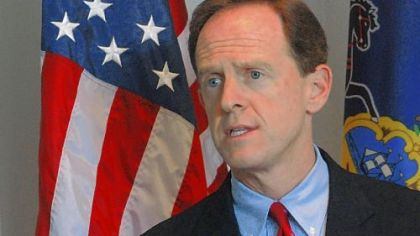 Sen. Pat Toomey says now is the perfect time to call out President Barack Obama on national spending.