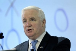 Federal judge tosses Corbett's lawsuit seeking to overturn NCAA's Penn State penalties