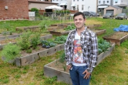 Shaler Area student gardens to help needy