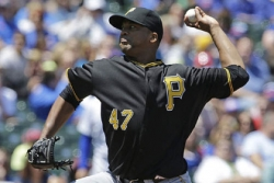 Liriano earns 4th win Pirates shut out Cubs
