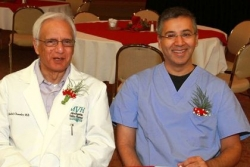 Two doctors keep practices in the family