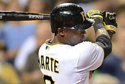 Pirates outslug Giants, 12-8, as top of batting order shines