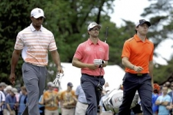 Tiger not shocked Merion has won first two days