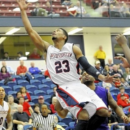 Guard Jeremiah Jones and the Duquesne Dukes begin the toughest part of their schedule tonight against Virginia Commonwealth at Consol Energy Center.