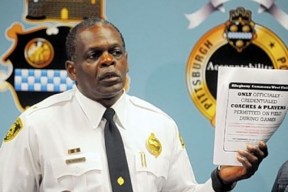 Pittsburgh Police Chief Nate Harper got a vote of confidence Friday from Mayor Luke Ravenstahl.