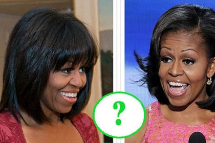 Vote now on which hairstyle you prefer for the first lady.