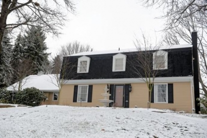 This four-bedroom Colonial in Penn Township, Butler County, is on the market for $725,000.