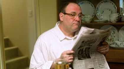 "James Gandolfini portays Pat in ""Not Fade Away."""