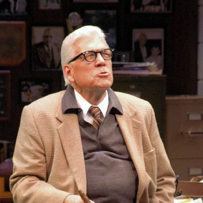 """The Chief,"" the one-man show starring Tom Atkins as Art Rooney, celebrates its 10th anniversary with a run at Pittsburgh Public Theater."