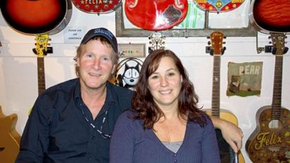 Store owners Buddy and Michelle Hall.