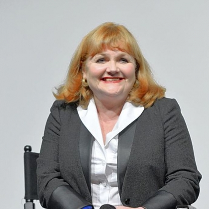 Actress Lesley Nicol.