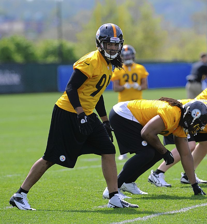 Steelers notebook: Top pick Jarvis Jones anxious to put on pads