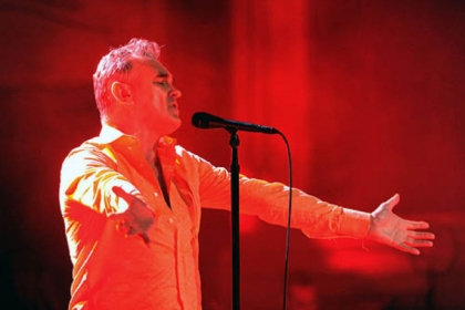 British rock legend Morrissey has &quot;crafted a timeless sound into which he could age gracefully.&quot;