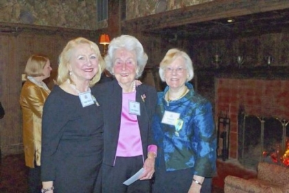 Peggy Shaver, Lowrie Ebbert and Elizabeth Hobbs