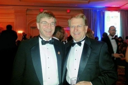 U.S. Rep. Keith Rothfus and Chuck Kolling