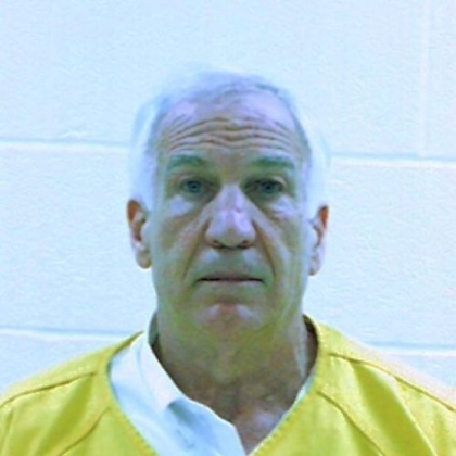 Jerry Sandusky police mugshot.