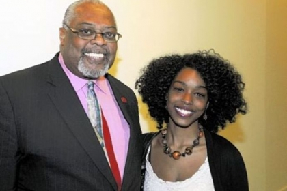 Sala Udin and Kayla Bowyer