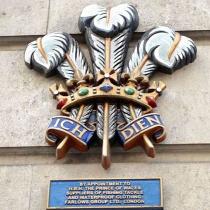 Waterproof ware gets the Royal Warrant at Farlows Group Ltd.credit Patricia Sheridan