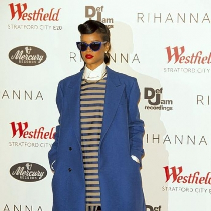 Rihanna will unveil her fashion line next month during London Fashion Week.