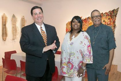 Honorees Bill Peduto, Donna Baxter and Nelson Harrison.