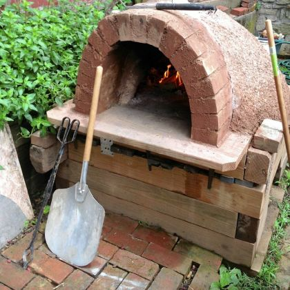 Garden Design With Build A Pizza Oven In The Backyard PG Plate With  Landscaped Gardens From