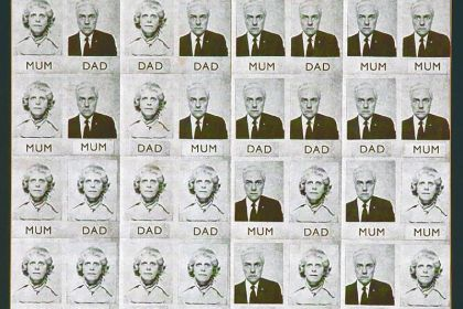 "Genesis P-Orridge's ""Mum & Dad"" from 1971."