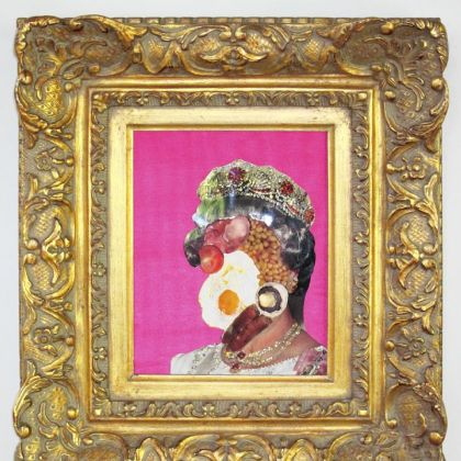 "Genesis Breyer P-Orridge's ""English Breakfast"" from 2009."