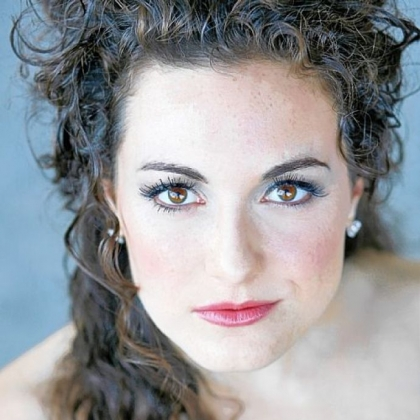 Below is mezzo-soprano Samantha Korbey, 29, who also will be in the production. All are members of Pittsburgh Opera's resident artists program.