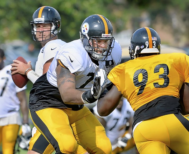 Steelers' offensive tackle switch is likely a permanent one