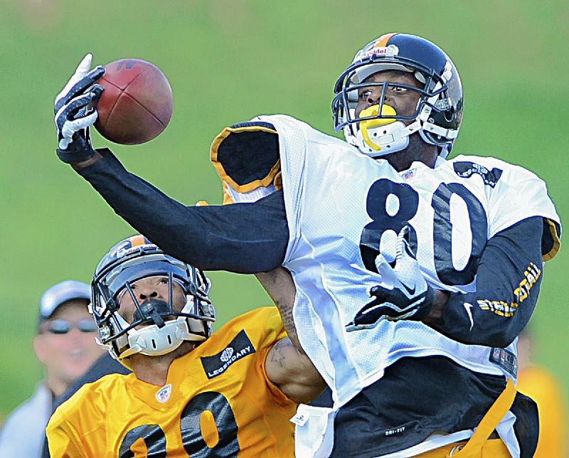 Steelers notebook: Burress to see old friends Saturday