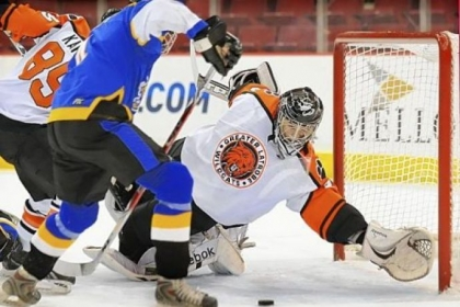 Latrobe's Shane Brudnok, making a save during 2010 state title game, wants to finish his high school career on a similar stage.