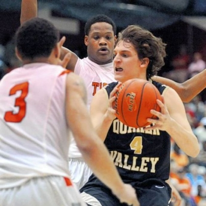 Senior Burke Moser gives Quaker Valley a veteran presence in the lineup.