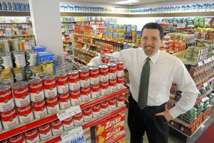 Ed Christofano owns Youngwood Corner Market, which recently opened in the small Westmoreland County town.