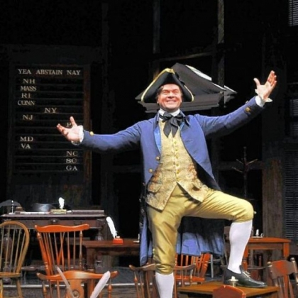 John Scherer plays Richard Henry Lee in &quot;1776,&quot; at Pittsburgh Public Theater.