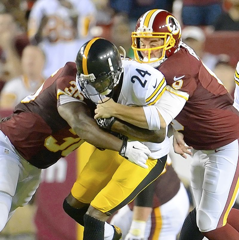 Steelers offensive line's poor performance holds back offense