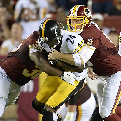 Injuries plague Steelers' 24-13 loss to Redskins