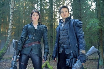 "Gemma Arterton is Gretel and Jeremy Renner is Hansel in the R-rated ""Hansel & Gretel."""