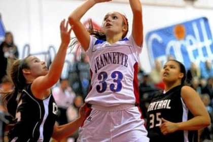 Jeannette's Ciara Gregory stands out as the top scorer in the WPIAL, more than three points a game better than the next leading scorer.