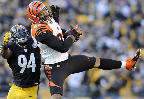 Game 2 matchup: Steelers at Bengals