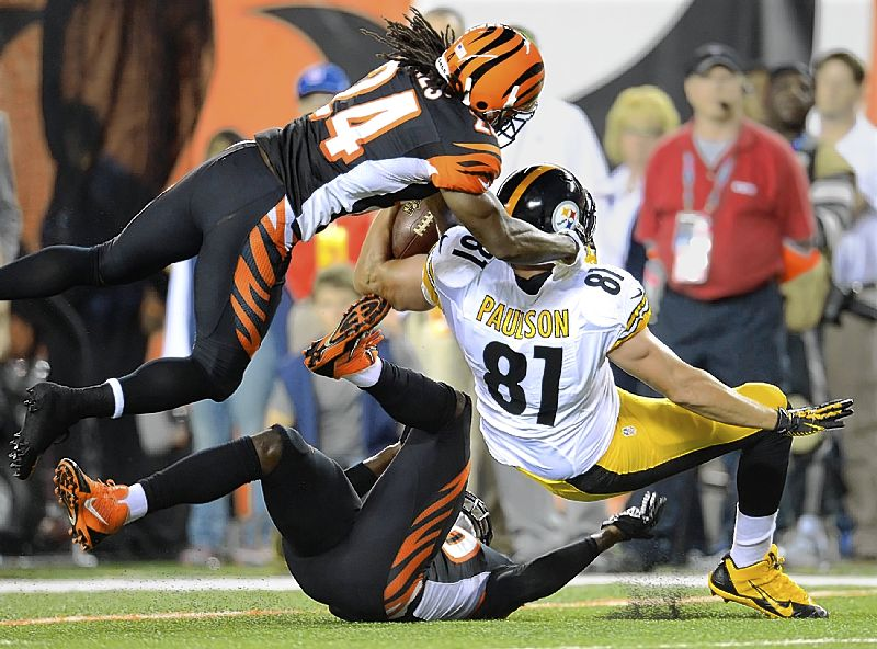 Steelers lose to Bengals, 20-10