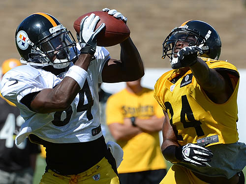 Steelers' Brown acknowledges sideline confrontation with Haley