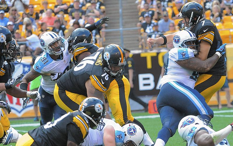 Steelers still talking the company line when it comes to the O-…
