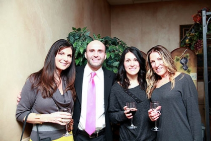 From left, Stephanie Massaro, Chris and Hannah Fiumara and Chickie Oramas.