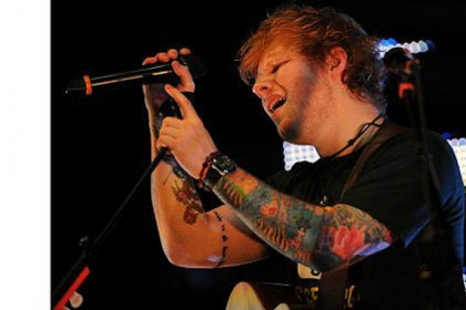 Grammy nominee Ed Sheeran makes his Pittsburgh debut at Stage AE on the North Shore.
