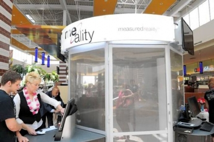 The Me-Ality body scanning booth at The Mall at Robinson started in June by offering advice on pants selections. Now its calibrations can give help on sweaters, tops, dresses, etc.