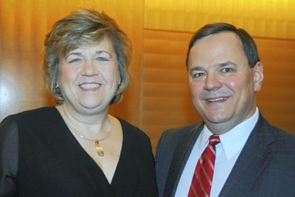 Brenda and Paul Furiga, RCBB board chairman.