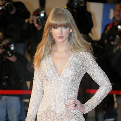 Taylor Swift last Saturday at the NRJ Music awards ceremony in Cannes, France.