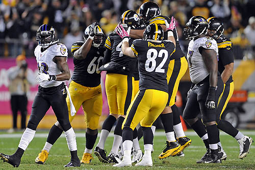 Steelers beat Ravens, 19-16, with late field goal