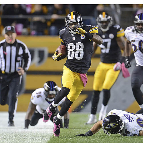 Steelers notebook: Sanders delivers with kickoff return