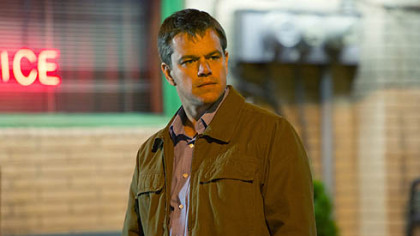 Matt Damon stars as Steve Butler in Gus Van Sant's contemporary drama 'Promised Land.'